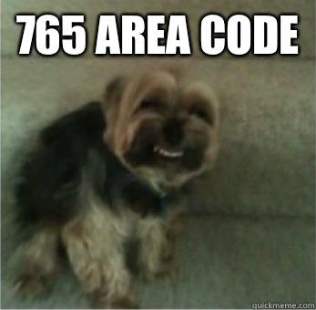 765 area code