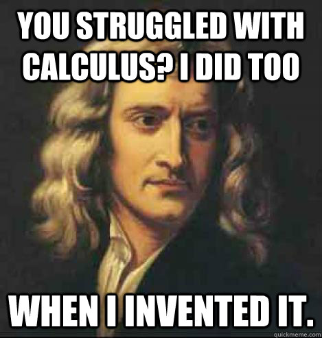 Image result for calculus funny meme