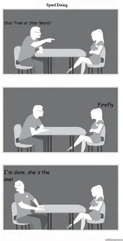 Firefly speed dating
