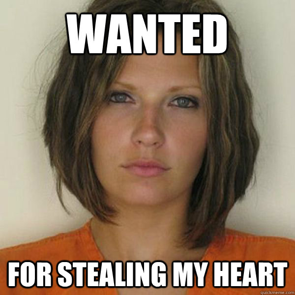 WANTED for stealing my heart - WANTED for stealing my heart  Attractive Convict