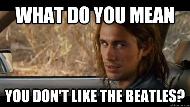 what do you mean you don't like The Beatles? - what do you mean you don't like The Beatles?  pineapple express