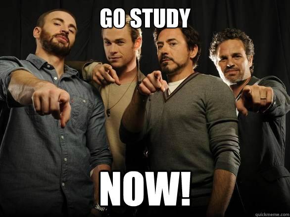 Go Study NOW!