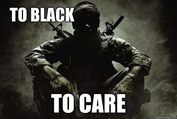 To black  To care  black ops fun 3
