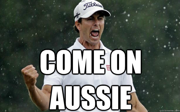 come on aussie