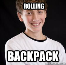 ROLLING BACKPACK - ROLLING BACKPACK  High School Freshman