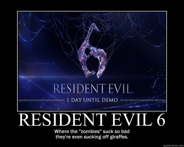 Resident Evil 6 Memes Quickmeme