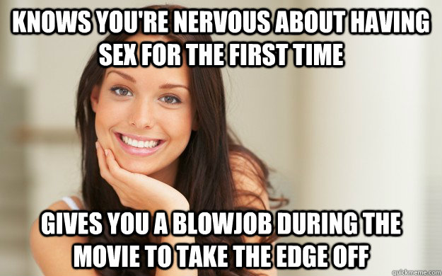 Nervous about having sex for the first time