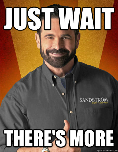 Just wait There's more - Just wait There's more  Billy Mays