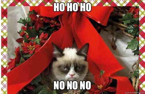 Ho Ho Ho  No no no - Ho Ho Ho  No no no  Grumpy Cat Christmas Carol