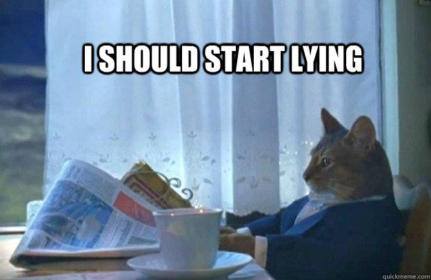 I should start lying - I should start lying  Misc