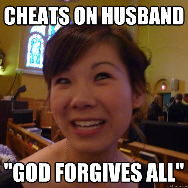 Cheats on Husband