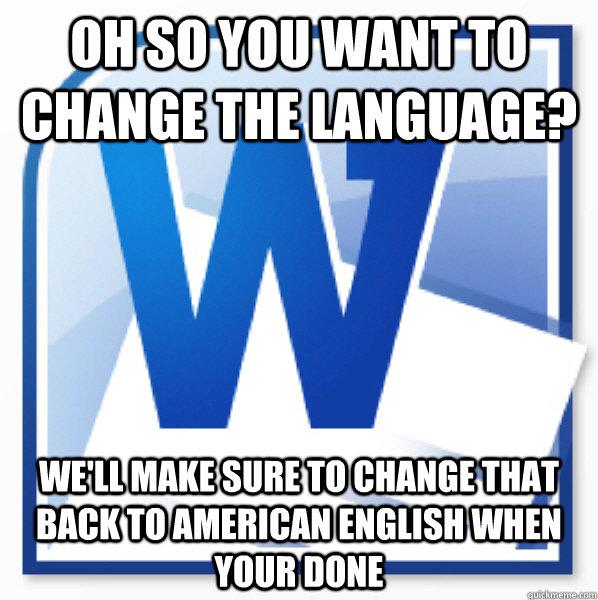 how to change mac language back to english