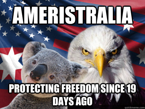 Ameristralia Protecting freedom since 19 days ago - Ameristralia Protecting freedom since 19 days ago  Ameristralia