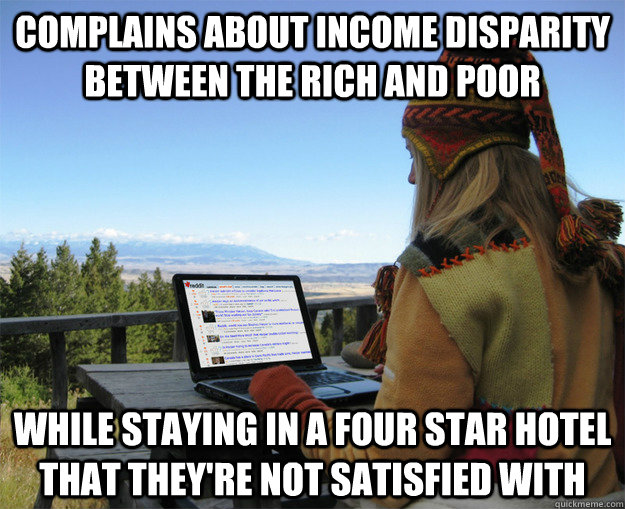 disparity between the rich and poor