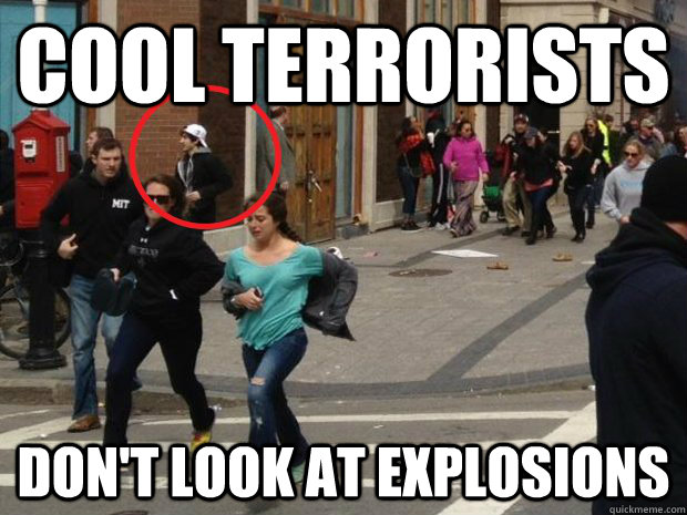 Cool Terrorists Don't look at explosions - Cool Terrorists Don't look at explosions  Misc