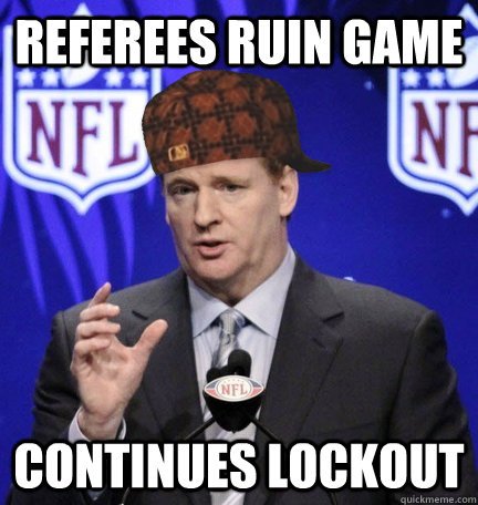 referees ruin game continues lockout