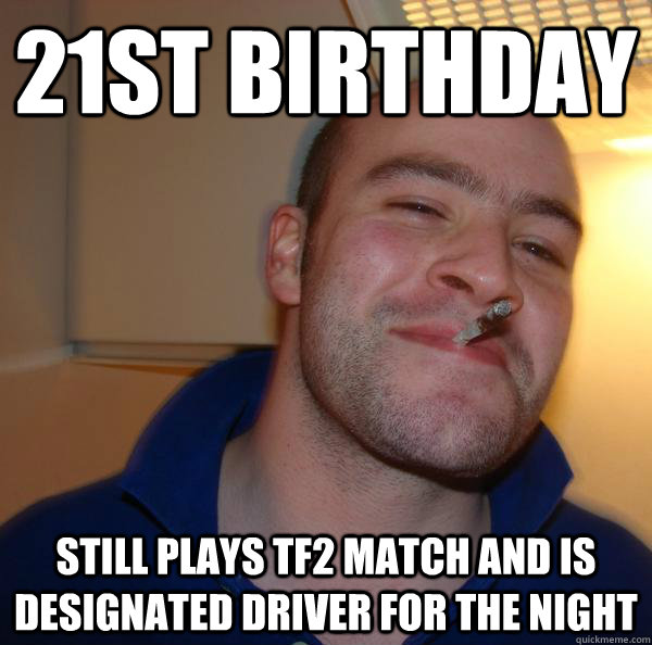 21st Birthday Still Plays Tf2 Match And Is Designated