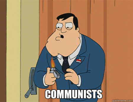 COmmunists   American Dad