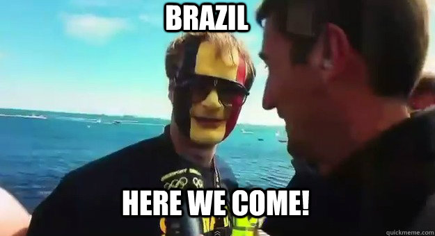 here we come! brazil