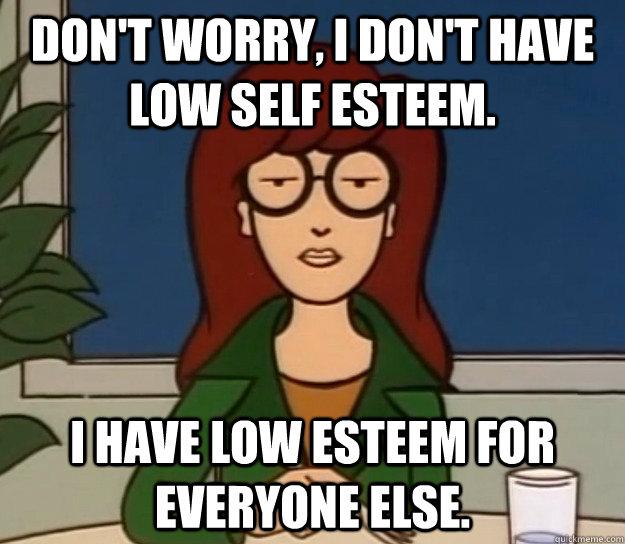 Low self esteem dating site