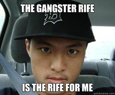 straight outta crompton   asian gangster   quickmeme
