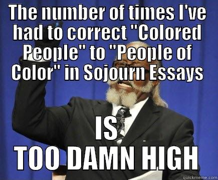 colored people essay Colored people, however, is not about race specifically rather, it is a story which chronicles how his show more henry viii and louis xiv essay 1494 words | 6 pages.