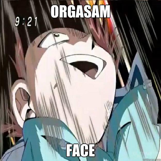 Orgasam Face