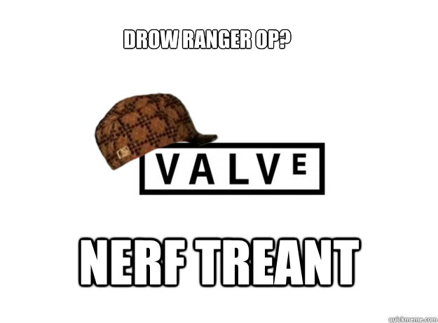 DROW ranger OP? NERF TREANT