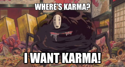 Where's Karma? I want karma! - Where's Karma? I want karma!  Misc