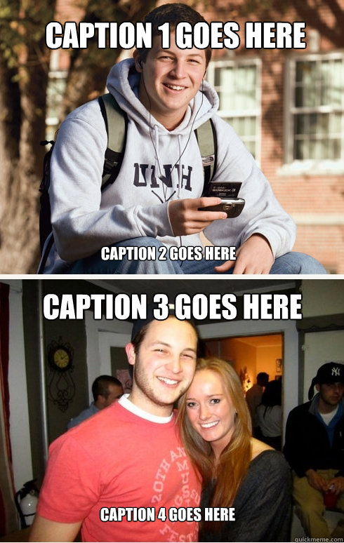 Caption 1 goes here Caption 2 goes here Caption 3 goes here Caption 4 goes here  College Sophomore