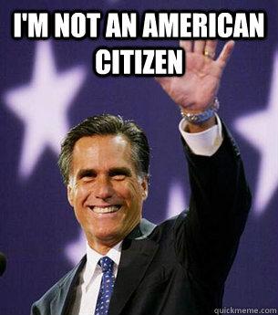I'm not an American Citizen