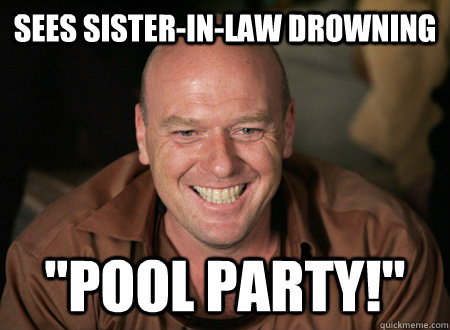 Sees Sister-In-law drowning