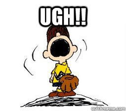 UGH!!  - UGH!!   Charlie Brown Drama