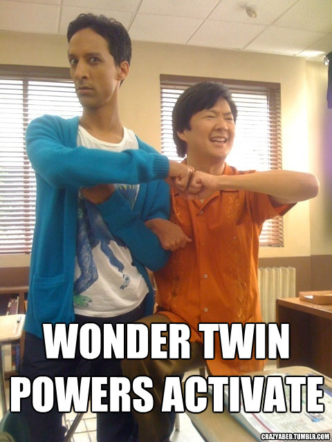 WONDER TWIN POWERS ACTIVATE crazyabed.tumblr.com