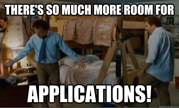 There's so much more room for applications! - There's so much more room for applications!  Stepbrothers Activities