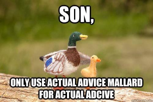 actual advice mallard dating site