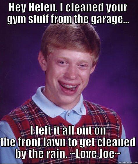 Clean gym equipment quickmeme