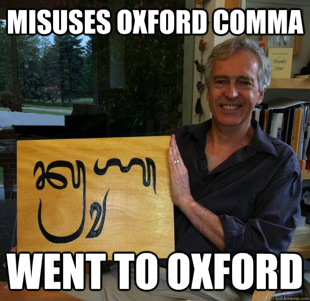 Why We Need The Serial Comma 10 Hilarious Real-World Examples