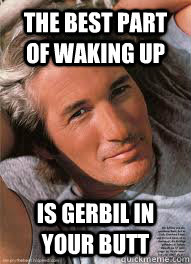 Best Part of Waking Up is Gerbil In Your Butt