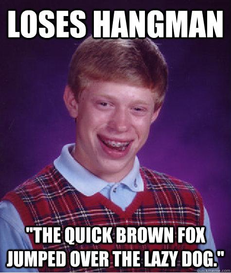 Loses Hangman