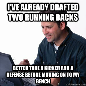 First Time Fantasy Football Player Memes Quickmeme