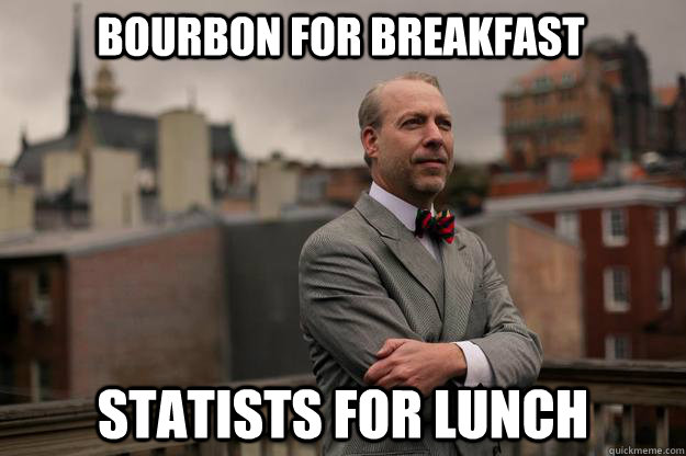 Bourbon for Breakfast Statists for Lunch