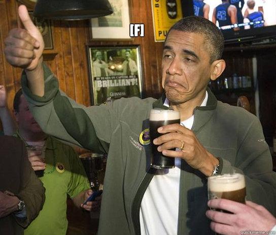 [f]  - [f]   Upvoting Obama