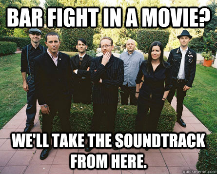 bar fight in a movie? we'll take the soundtrack from here. - bar fight in a movie? we'll take the soundtrack from here.  Good Guy Flogging Molly