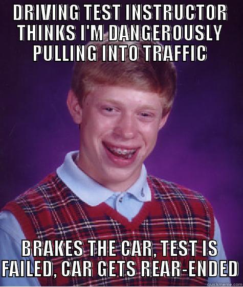 i failed my drivers test