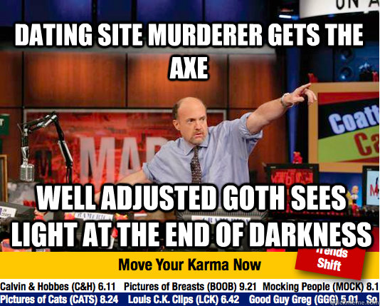 dating site axe murderer tours