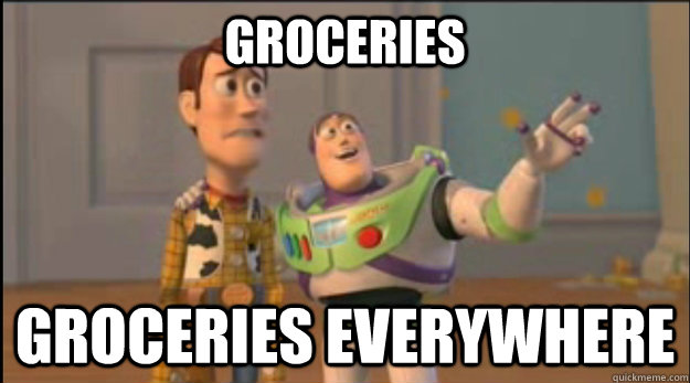 Groceries Groceries Everywhere