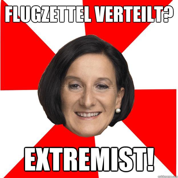 Flugzettel Verteilt? Extremist! - Flugzettel Verteilt? Extremist!  Mikl Terror Leitner