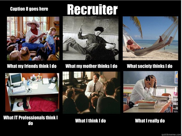 Working With A Recruiter Is Like Working With A Used Car