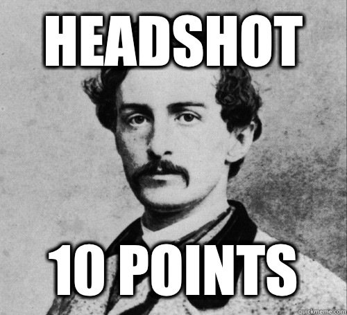 Headshot  10 Points